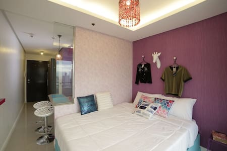 Urduja Fashion Room, Malate w/ Wifi - Manila - Condominium