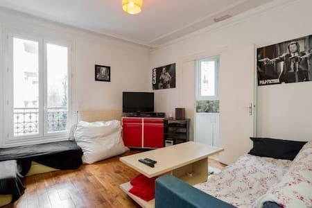 Cosy & Convivial Flat - Paris 14eme - Parijs