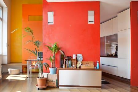 Design-loft in ex industrial context [Navigli] - Milan - Loft