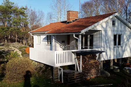 Cottage near beautiful beach on Koster. - Sydkoster - Cabin