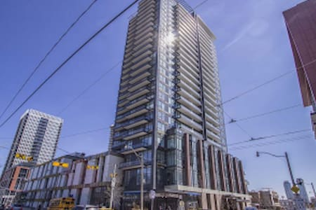 Master bedroom in a luxury condo - Toronto - Condominium