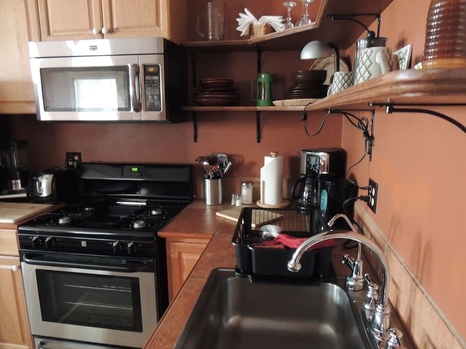 Full kitchen, fully equipped!