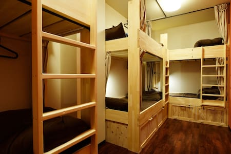 NEW*8min Namba*Clean hostel*6Female dorm*Free Wifi - Naniwa-ku, Ōsaka-shi