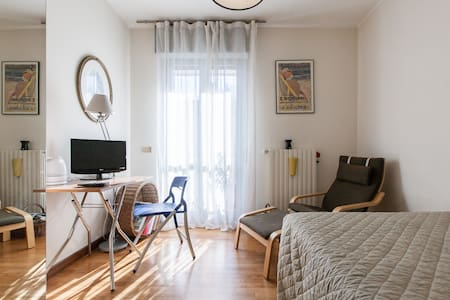 bedroom with private bathroom - Milano