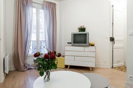 Cosy apartment Père Lachaise 11E