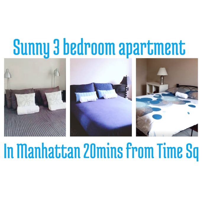 Sunny 3 Bedroom Apartment In NYC Apartments For Rent In New York