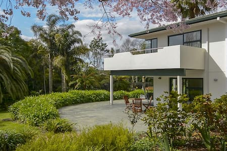 Self Contained Apartment Set in Tropical Garden - Tauranga - Pis