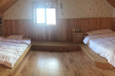 乌镇包接送,独立楼层双床大榻榻米家庭房小木屋 - Jiaxing