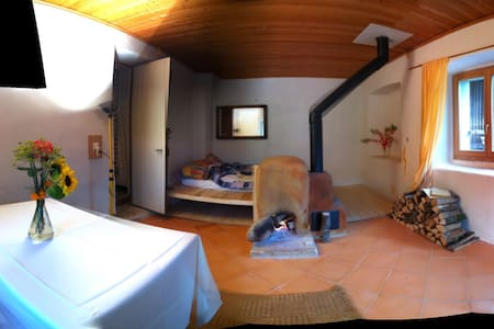 studio dans ferme bio/demeter - Wohnung