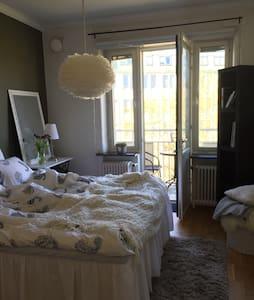 Cozy bedroom in Gothenburg city - Göteborg - Flat