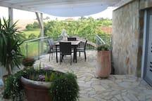 Ruhig gelegene Ferienwohnung mit großer Terrasse