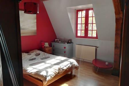 Chambre 15m2 proche d'Angers et des bords de Loire - Bouchemaine