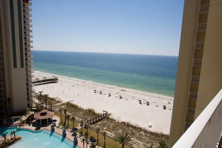 Shores of Panama 1BR/Bnk/2BA Reserved Parking Free Wifi Free Fun Included with Rental Book Now - Panama City Beach