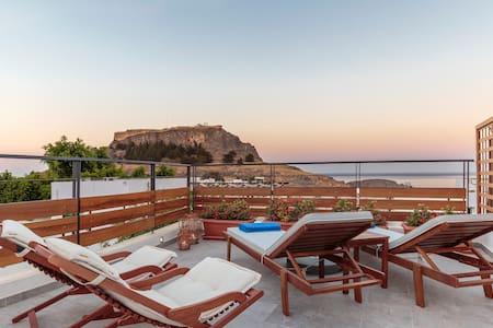LindosAqua Luxury Villa - Rodos - Villa