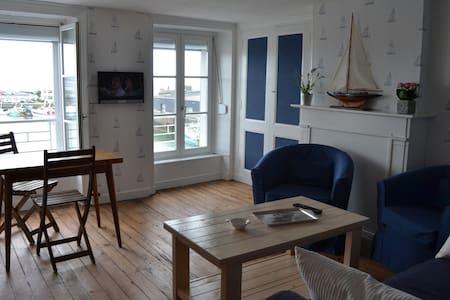 appartement avec vue exeptionnelle sur le port 4 - Granville - Apartment