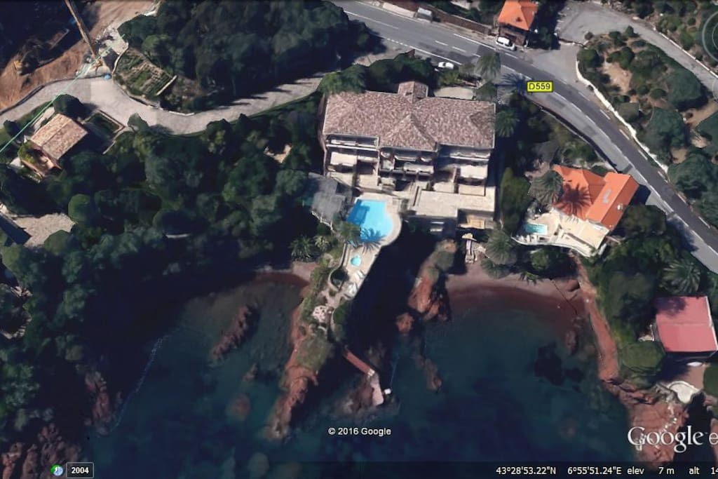 my house from google earth