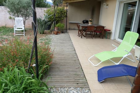 villa confortable au calme - Huis