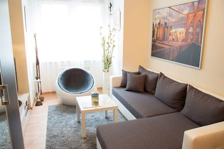 COZY & MODERN studio, 12 mins to Wenceslas Square - Leilighet