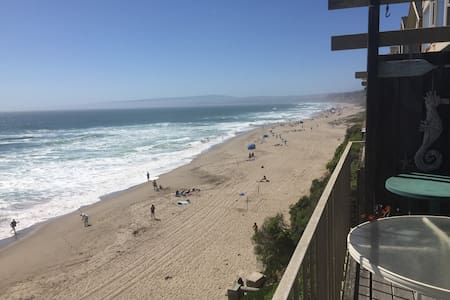 Ocean Front Townhome - On the Beach! - La Selva Beach