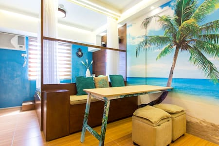 Beach Inspired Condo Unit - Appartement