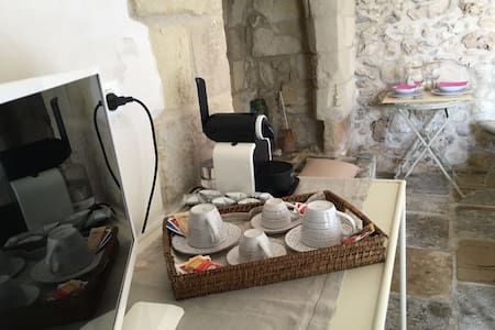 Masseria, country suite: organic breakfast, bikes - Borgagne - Bed & Breakfast
