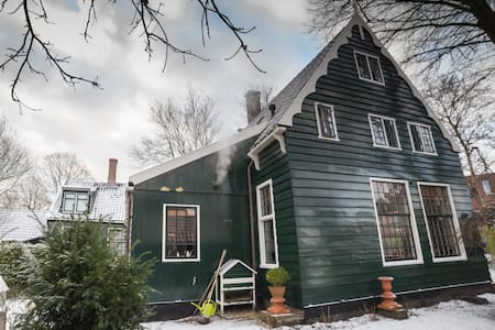 Historical wooden house - House