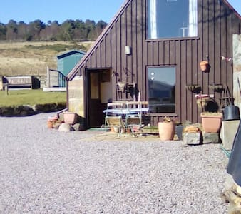 Lovely cabin with panoramic views - Strathpeffer - Бунгало