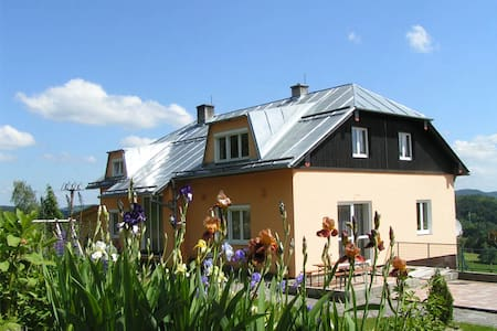 Privat Panorama, calm and beautiful b&b in nature - Ujčov - Bed & Breakfast