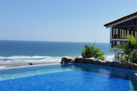 Sonido del Sol vacation home with ocean view - Olon - House