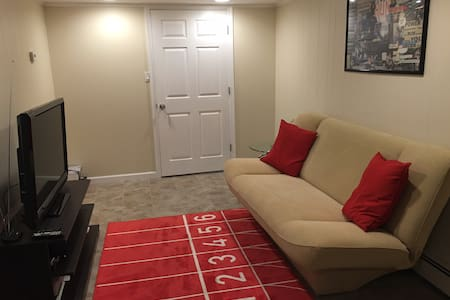 Newly renovated, modern 1 bed mins from NYC - West New York - Apartamento