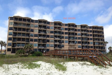 "Oceanfront ""No Drive"" Beach - Ponce Inlet - Appartement"