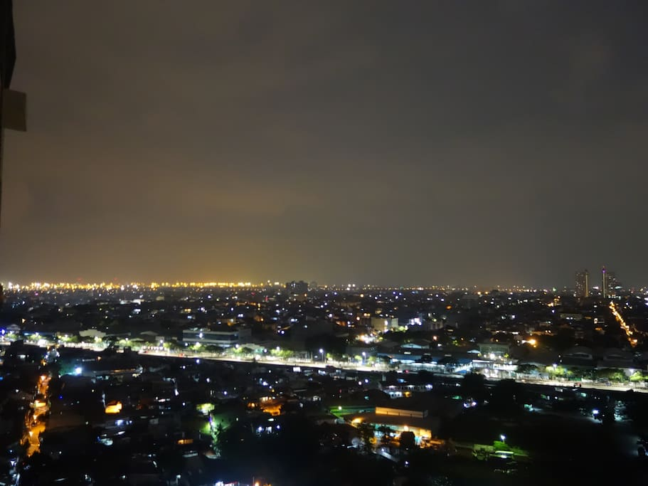 Night View from Unit