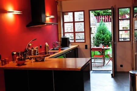 Maison calme à Bèze en Bourgogne - Bèze - Huis