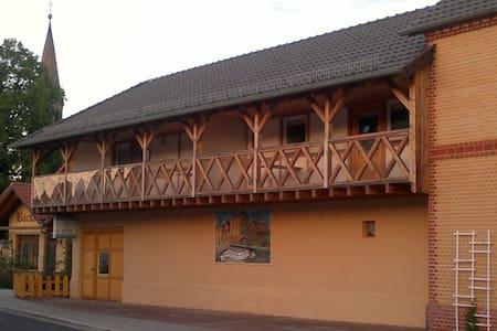 1 A Ferienwohnung Goller Haus Hammermühle 2-4 Pers - Senftenberg - Departamento