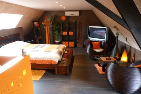Gîte avec Spa et Sauna privatifs - Halluin - Apartment
