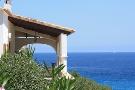 Villa Bellamar Jolie villa sur la mer et la plage - Cala Anguila-Cala Mendia - House