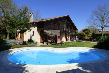 Quiet house with swimming pool near Bordeaux - Saint-Médard-en-Jalles