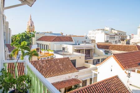 Apto. con espectacular vista en el CentroHistorico - Cartagena - Appartement