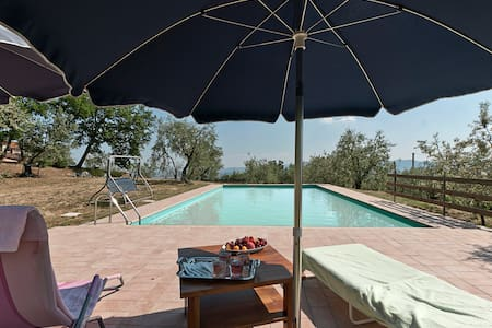 CAMPO AL FORTE with pool and AC - Province of Pistoia - House