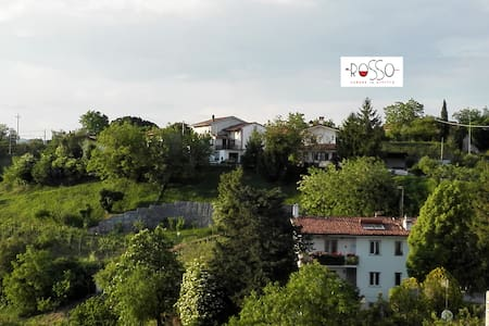 Camera doppia con vista zona Collio - San Floriano del Collio - Bed & Breakfast