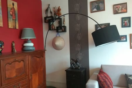 Cozy room 10 minutes from the citycentre Bellecour - Daire