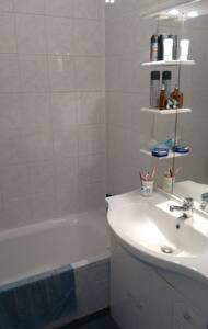 Gde chambre/Spacious room for 2 or+ - Lyon - Appartement