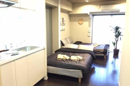 NEW Built! Close to Namba  + Wi-Fi - Apartment