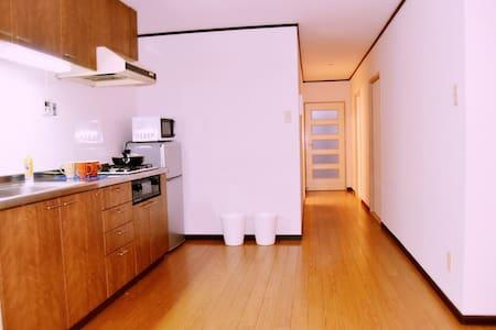 10nim by bus to dotonbori 3bedroom - Ōsaka-shi - Wohnung