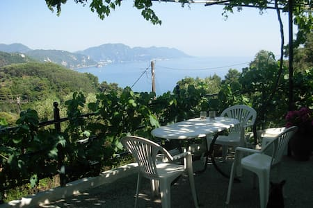 Panorama Rooms in Mirtiotissa (Room No.1) - Corfu - Rumah
