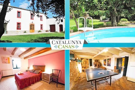 Masia for 10 people, in the heart of Spanish wine country! - Sant Martí Sarroca