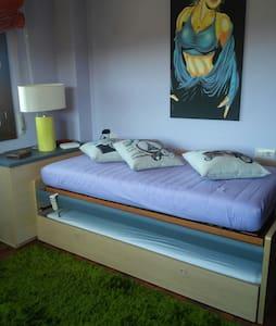 Habitación en espaciosa casa con piscina en Meis - O Salnés