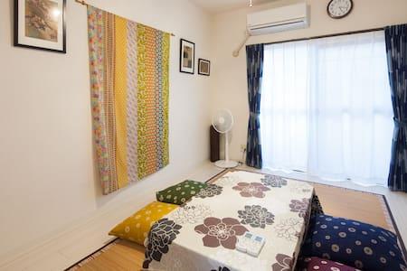 102. Enjoy Local stay! Free Car park/ Up to 8ppl ! - Kashiwara-shi - Appartement