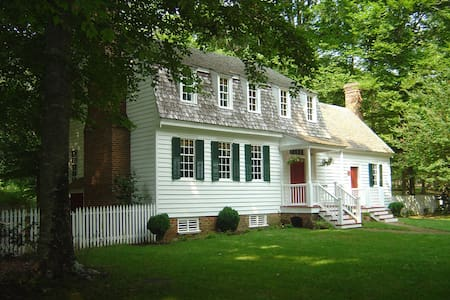 18th Century Plantation House on 100 Acres - Williamsburg - Haus