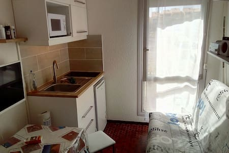 Le Barcares, petit studio - Appartement